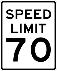 New Speed Limit on Highway
